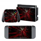Dark Abstract design decal for Nintendo switch console sticker skin