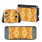 Blurry Tiles design decal for Nintendo switch console sticker skin