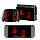Colored Hand design decal for Nintendo switch console sticker skin