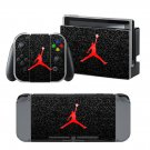Jumpman Silver design decal for Nintendo switch console sticker skin