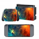 Red Starry sky design decal for Nintendo switch console sticker skin