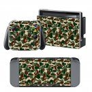 Bape Camo design decal for Nintendo switch console sticker skin