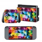 Geomatric Colored Traingle design decal for Nintendo switch console sticker skin