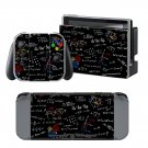 Trigonometric Surface design decal for Nintendo switch console sticker skin