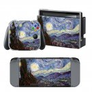 Painted Photo design decal for Nintendo switch console sticker skin