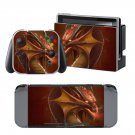 Dragon Fly design decal for Nintendo switch console sticker skin