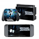 Michael Jackson design decal for Nintendo switch console sticker skin