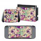 Prism design decal for Nintendo switch console sticker skin