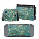 Almond Blossoms design decal for Nintendo switch console sticker skin
