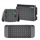 Metal Floor design decal for Nintendo switch console sticker skin