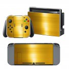 Golden Color Floor design decal for Nintendo switch console sticker skin