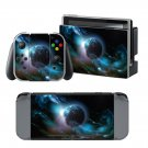 Galaxy Planet design decal for Nintendo switch console sticker skin