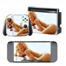 Nude Girl design decal for Nintendo switch console sticker skin