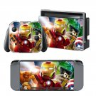 Lego Marvel Super Heroes design decal for Nintendo switch console sticker skin
