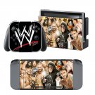 WWE Fighters design decal for Nintendo switch console sticker skin