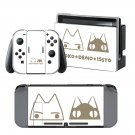 Doko Demo issyo anime design decal for Nintendo switch console sticker skin