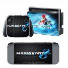 Mario Kart 8 design decal for Nintendo switch console sticker skin