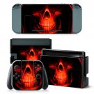 Devil Skull design decal for Nintendo switch console sticker skin