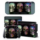 Various Color Skull design decal for Nintendo switch console sticker skin