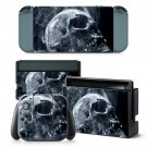 Smoky Skull design decal for Nintendo switch console sticker skin
