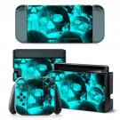 Cold Skull design decal for Nintendo switch console sticker skin