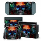 Iron Skull design decal for Nintendo switch console sticker skin