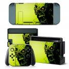Devil Skull design decal for Nintendo switch console sticker skin
