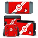 Team Valor International decal for Nintendo switch console sticker skin