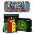 Trippy decal for Nintendo switch console sticker skin
