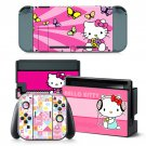 Hello Kitty decal for Nintendo switch console sticker skin