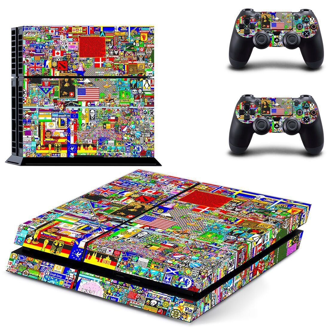 ps4 skin decal for console and controllers
