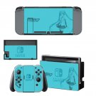 Hatsune Miku decal for Nintendo switch console sticker skin