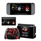 Pokemon  decal for Nintendo switch console sticker skin