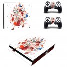 Slam Dunk Anime ps4 slim edition skin decal for console and controllers