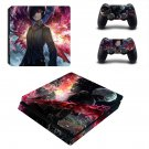 Tokyo Ghoul ps4 slim edition skin decal for console and controllers