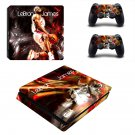 Lebron James ps4 slim edition skin decal for console and controllers