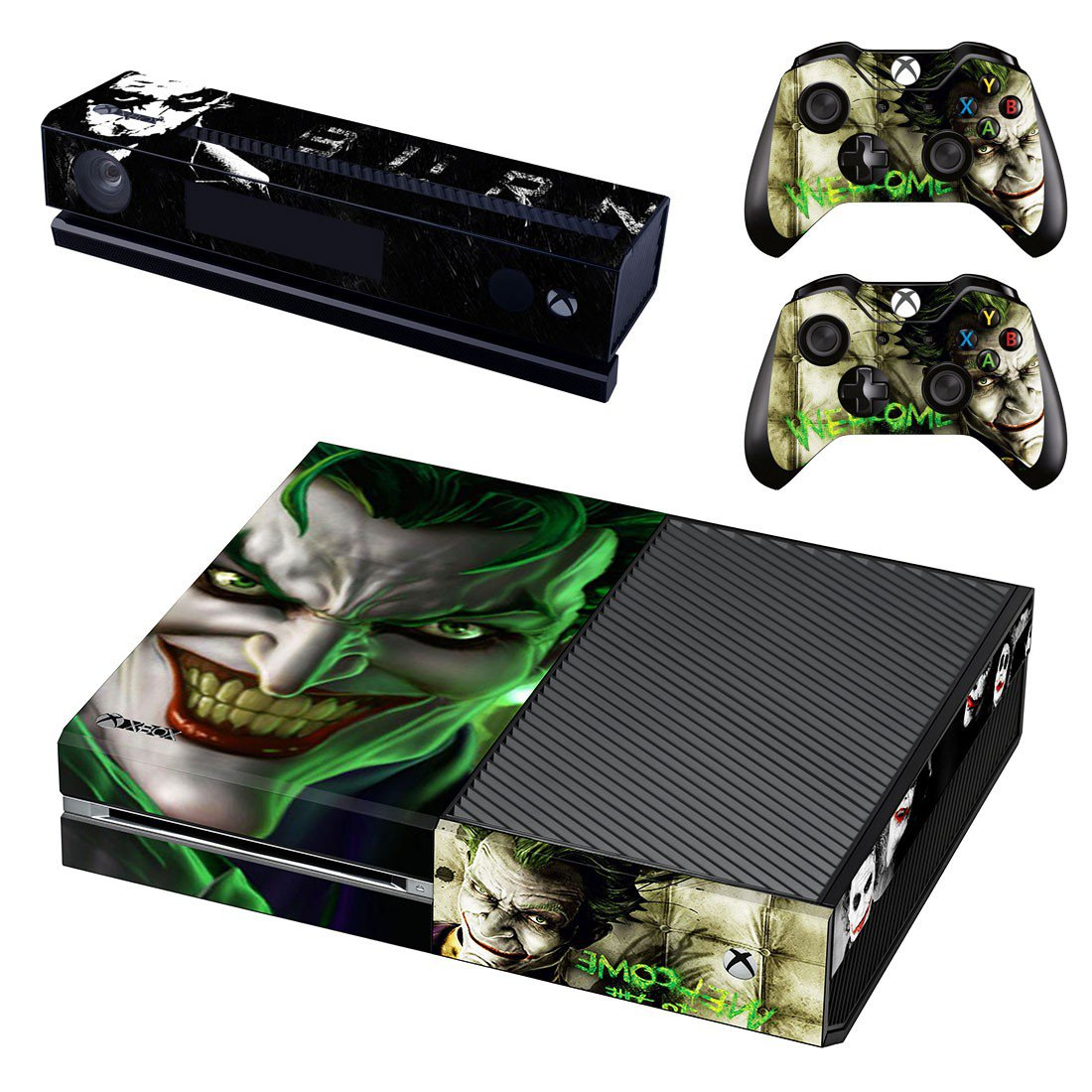 Joker skin decal for Xbox one console and controllers