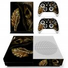 Depths Of Hell Animated skin decal for Xbox one S console and controllers