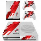 Club Atletico skin decal for Xbox one S console and controllers