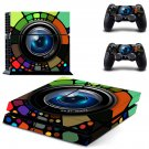 Camera Lense  skin decal for PS4 PlayStation 4 console and 2 controllers