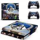 Oldham athletic AFC skin decal for PS4 PlayStation 4 console and 2 controllers