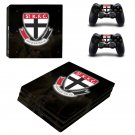 St Kilda Football Club ps4 pro skin decal for console and controllers