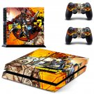 borderlands 2 ps4 vinyl skin decal for console and controllers