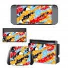 Clipart decal for Nintendo switch console sticker skin
