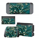 Tree clipart decal for Nintendo switch console sticker skin