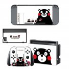 Kumamon for Nintendo switch console sticker skin