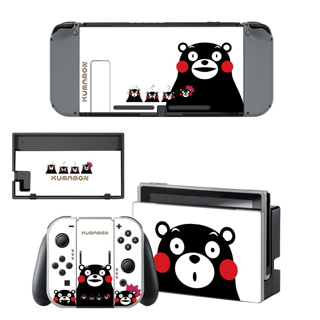 Kumamon decal for Nintendo switch console sticker skin