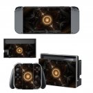 Fractal art decal for Nintendo switch console sticker skin