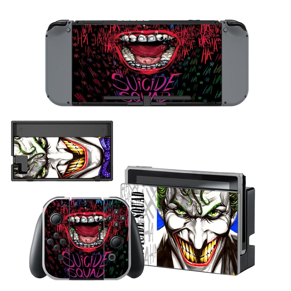 The joker  decal for Nintendo switch console sticker skin