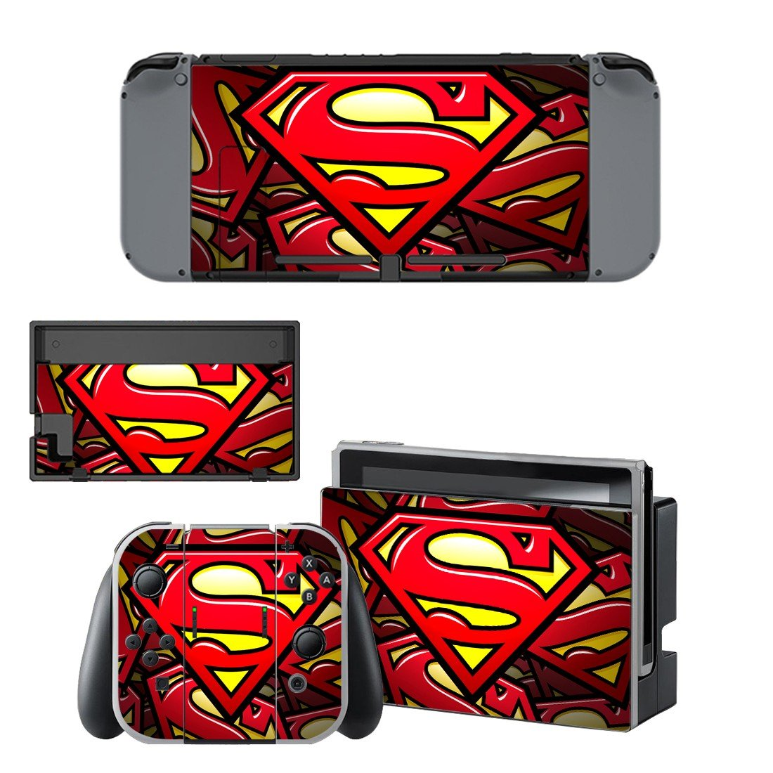 Superman  decal for Nintendo switch console sticker skin